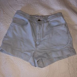 American apparel high wasted shorts